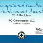 16 Occupational Excellence Achievement
