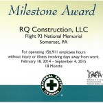 Flight 93 Milestone Award