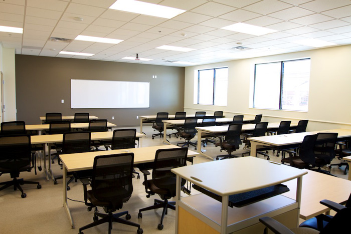 Classroom Standards For Design : Total army school system training center rq construction