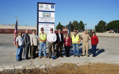 Rotary Aircraft Depot Maintenance Team Breaks Ground at Naval Base Coronado